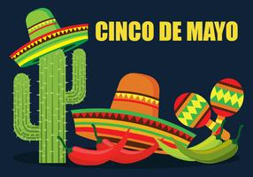 Cinco De Mayo Vektorillustration
