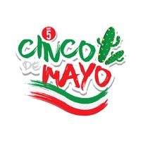 Cinco De Mayo Illustratie
