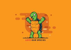 Sköldpaddor Vector