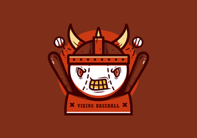 Baseball Mascot Vector