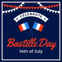 Festeggia il giorno della presa della Bastiglia
