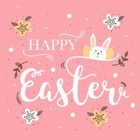 Joyeux Pâques vecteur