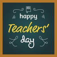 Bonne journée des enseignants