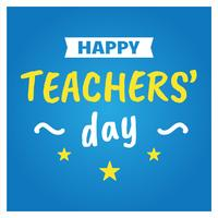 Happy Teachers' Day Poster