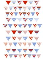 Memorial Day Decorations Vectors