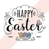 Vecteur de fond de Pâques