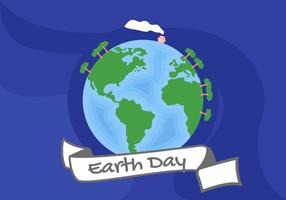 Peacefully Earth Day Vectors