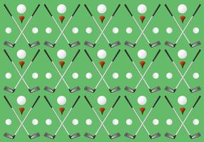 Unique Vintage Golf Pattern Vectors