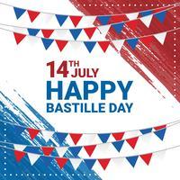 Glücklicher Bastille-Tageshintergrund