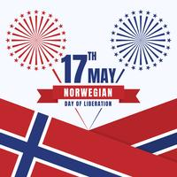 Norge Independence Day Patriotisk Design National Colors Of The Country