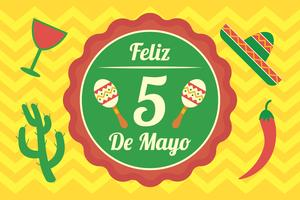 Fundo De Cinco De Mayo