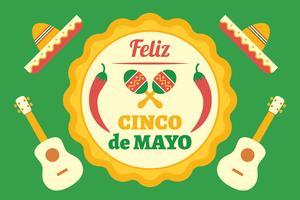 Cinco de Mayo achtergrond