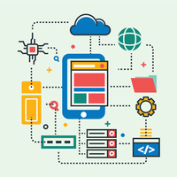 Mobile zentrische Cloud-Engineering-Technologie