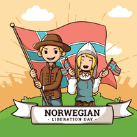 Norwegian Day Of Liberation