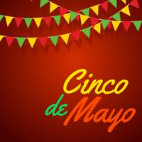 Vector de cartel de Cinco De Mayo