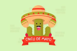 vector de cinco de mayo