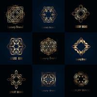 Diseños de marcas de lujo.