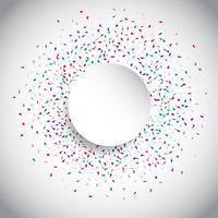 Círculo de confeti