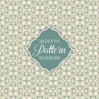 Decorative patterned background