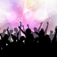 Party Menschenmenge Hintergrund