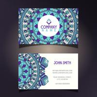 Mandala business card