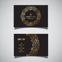 Design elegante cartão de visita