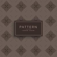 viejo estilo vintage vector patrón de diseño