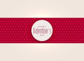 elegantes Valentinstaghintergrunddesign