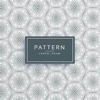 abstract hexagonal line pattern background design