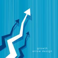 abstrakter Geschäftsvektorpfeil-Designhintergrund