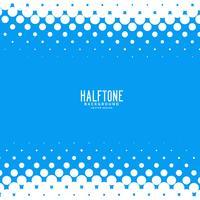 blauwe abstracte halftone vector achtergrond