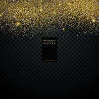 goud glitter textuur achtergrond confetti-explosie