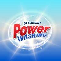 modello di progettazione di concetto di imballaggio del prodotto detergente e detergente