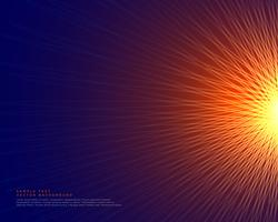 abstract lines background making a glowing sun style shape
