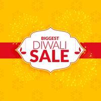 projeto de vetor de fundo impressionante diwali venda