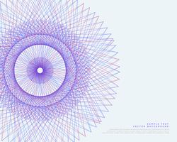 vector lines spirograph vector background
