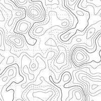 topografischer Kartendiagrammmusterhintergrund