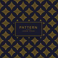 zwart en goud premium patroon ontwerp achtergrond