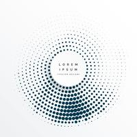 halftone circles abstract background design