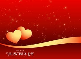 valentine's day banner design background greeting