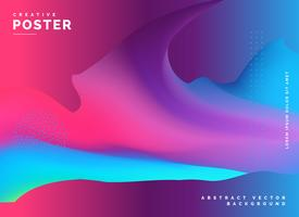 abstract fluid colors background design