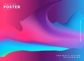 diseño de fondo de colores fluidos abstractos