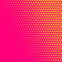 pink triangle comic style halftone background