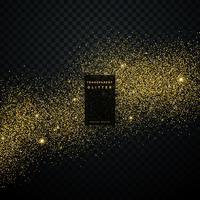 paillettes d'or fond étoile poussière brillant scintille