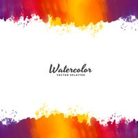 bright watercolor background vector design