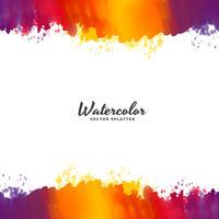 ljus vattenfärg bakgrund vektor design