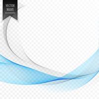 stijlvolle blauwe golfvorm achtergrond