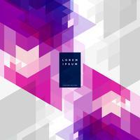 abstrakter geometrischer Hintergrund Design Vektor