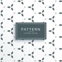 patrón de flores lindo vector diseño