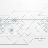 abstract geometrisch patroon met het kruisen van lijnen achtergrond